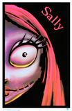 Nightmare Before Christmas- Sally Blacklight Poster Print