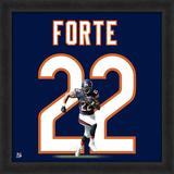Matt Forte, Bears - Framed Photographic Representation Of The Player'S Jersey Framed Memorabilia