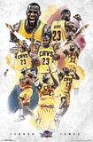 Cleveland Cavaliers- Lebron James 15 Posters