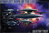 Star Trek- Ships Of The Line Poster
