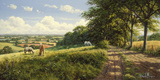Peaceful Pasture Giclee Print by David Morgan