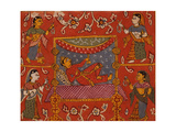 Reclining God with Attendants Prints