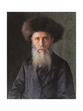 Portrait of a Rabbi Poster by Isidor Kaufmann