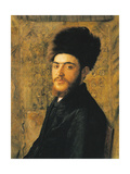 Man with Fur Hat Prints by Isidor Kaufmann