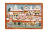 Krishna Abducts Mitravinda Posters