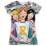 Juniors: Archie Comics- Archie And Gals Shirt