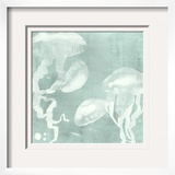 Spa Jellyfish IX Framed Giclee Print by Grace Popp