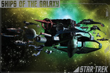 Star Trek- Ships Of The Galaxy Prints