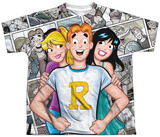 Youth: Archie Comics- Archie And Gals T-shirts