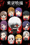 Tokyo Ghoul- Chibi Characters Kunstdrucke