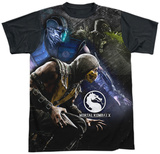 Mortal Kombat X- Three Of A Kind (Black Back) Sublimated