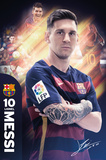 Barcelona- Messi 15/16 Posters