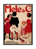 Children's Fashion at Mele Posters by Aleardo Terzi