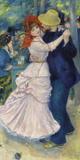 Dance at Bougival, 1883 Giclée-tryk af Pierre Auguste Renoir
