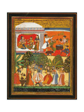 Krishna Dances with the Gopis Posters