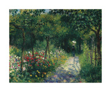 Femmes dans un Jardin, 1873 Premium Giclee Print by Pierre Auguste Renoir