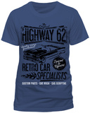 Highway 62 Car Specialists (Slim Fit) T-Shirts