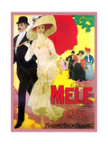 Mele Fashioned Couple Attract Old and Young People Posters by Aldo Mazza