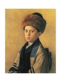 Portrait of a Young Boy Posters by Isidor Kaufmann