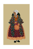 Crone of Provence Print by Elizabeth Whitney Moffat