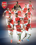 Arsenal- 15/16 Players Posters