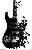 Crow Guitar Prints