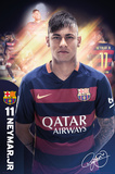 Barcelona- Neymar 15/16 Prints