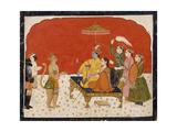 Rama's Court Print