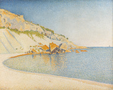 Opus 196, Cap Lombard, Cassis Giclee Print by Paul Signac