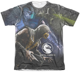 Mortal Kombat X- Three Of A Kind T-shirts