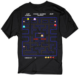 Pacman- Game Over T-shirts