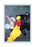 New for the Signora from Mele Prints by Leonetto Cappiello