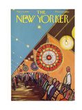 The New Yorker Cover - May 24, 1958 Premium Giclee Print by Robert Kraus
