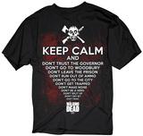 The Walking Dead- Keep Calm Zombie Vêtement
