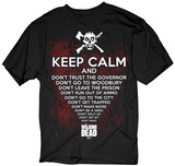 The Walking Dead- Keep Calm Zombie T-Shirt