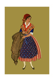 Fisher Woman from Nice Posters by Elizabeth Whitney Moffat