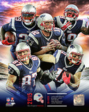 New England Patriots 2015 Team Composite Photo
