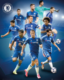 Chelsea- 15/16 Players Poster