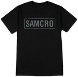 Sons of Anarchy- SAMCRO Banner T-skjorter