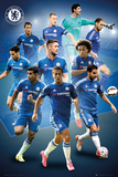 Chelsea- 15/16 Players Reprodukcje