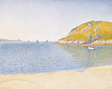 Port of Saint-Cast, 1890 Giclee Print by Paul Signac
