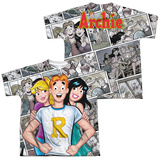 Youth: Archie Comics- Archie And Gals (Front/Back Print) T-shirts