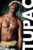 Tupac- Rain Print