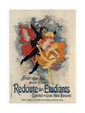 Redoute Des Etudiants Posters by Jules Chéret