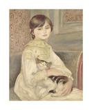 Julie Manet,1887 Premium Giclee Print by Pierre Auguste Renoir
