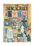 The New Yorker Cover - January 4, 1964 Premium Giclee Print by Robert Kraus