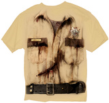 The Walking Dead- Ricks Costume T-shirts