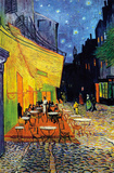 The Caferrace on the Place du Forum, Arles, at Night, c.1888 Print by Vincent van Gogh