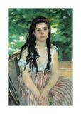 En Ete (La Bohemienne), 1868 Premium Giclee Print by Pierre Auguste Renoir