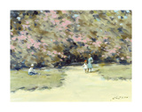 Stroll in the Park Premium Giclee Print by Andre Gisson